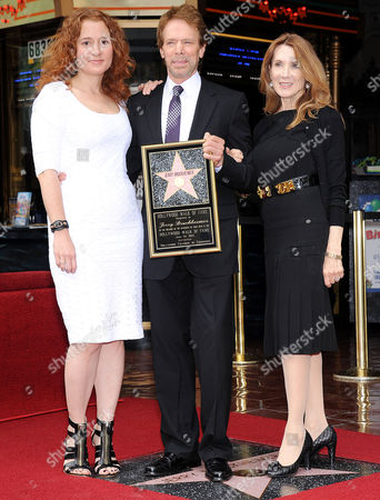 Stock Photo of Alexandra Bruckheimer, Jerry Bruckheimer and Linda Bruckheimer