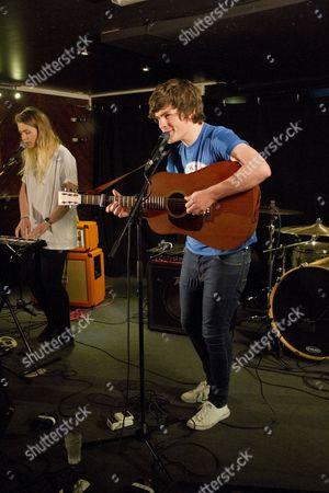 Editorial photo of Thomas J Speight Performing at Bunters Bar, Truro, Cornwall, Brighton - 21 Jun 2013