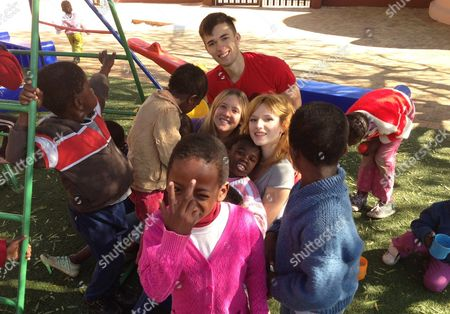 Editorial image of Bella Thorne visits Sparrow Village, a place of hope and caring for children suffering from the effects of HIV/AIDS, Roodepoort, South Africa  - 25 Jun 2013