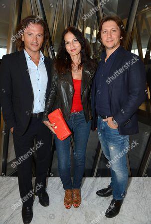 Yasmin Mills with Manuele Malenotti and Michele Malenotti