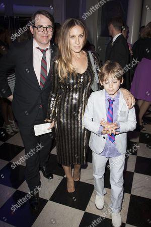 Matthew Broderick, Sarah Jessica Parker and James Broderick