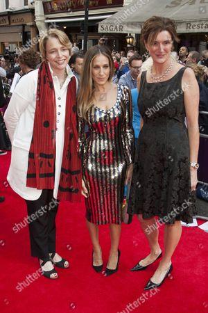 Ophelia Dahl, Sarah Jessica Parker and Lucy Dahl