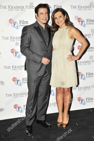 John Travolta and Ella Krasner