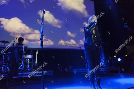 Cat Power AKA Charlyn Marie Marshall, performs at the Roundhouse in London on 25/06/13