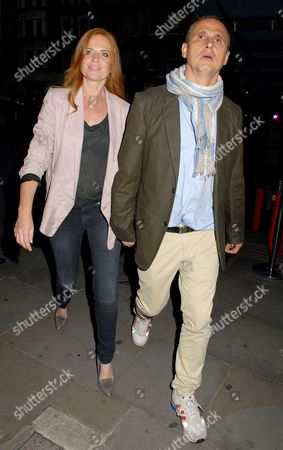 Stock Picture of Patsy Palmer and Richard Merkell
