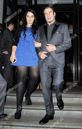 John Travolta with his daughter Ella Bleu Travolta