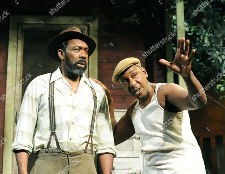 'Fences' - Lenny Henry as Troy and Colin McFarlane as Jim