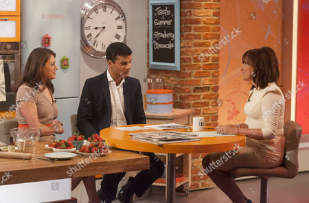 Editorial image of 'Lorraine Live' TV Programme, London, Britain - 26 Jun 2013