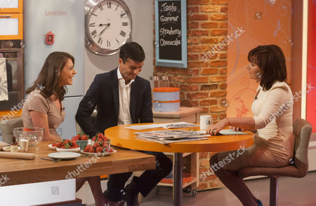 Editorial picture of 'Lorraine Live' TV Programme, London, Britain - 26 Jun 2013