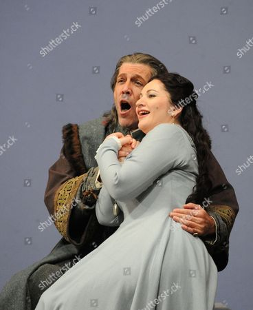 'Simon Boccanegra' - Thomas Hampson as Simon Boccanegra and Hibla Gerzmava as Amelia