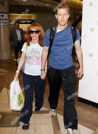 Editorial picture of Kathy Griffin and Randy Bick arriving at Los Angeles International Airport, America - 25 Jun 2013