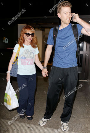 Stock Image of Kathy Griffin, Randy Bick