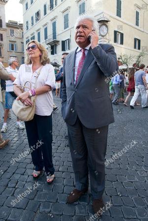 Denis Verdini and wife