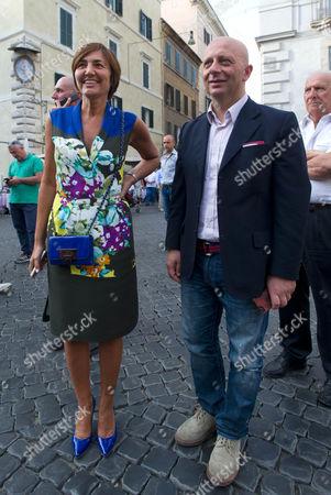 Renata Polverini, Pino Cangemi