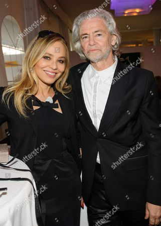 Ornella Muti and Prof. Dr. Hermann Buhlbecker