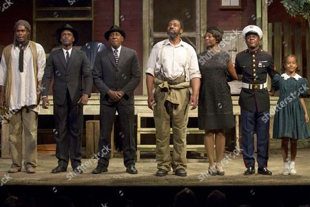 Editorial photo of 'Fences' play press night at the Duchess Theatre, London, Britain - 26 Jun 2013