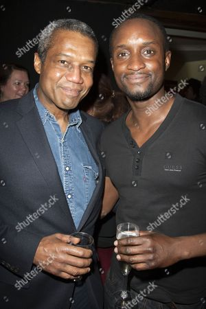 Hugh Quarshie and Peter Bankole