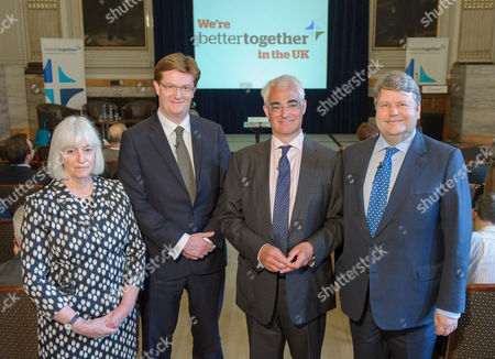 Mary Macleod, Danny Alexander, Alistair Darling and Lord Strathclyde