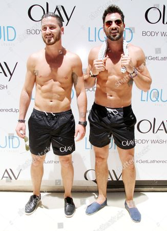 Stock Picture of Maksim Chmerkovskiy and Val Chmerkoyskiy