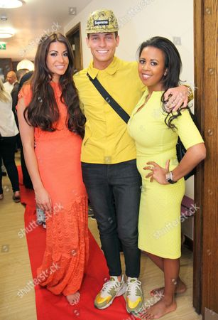 Cara Kilbey, Joey Essex and Danni Park-Dempsey