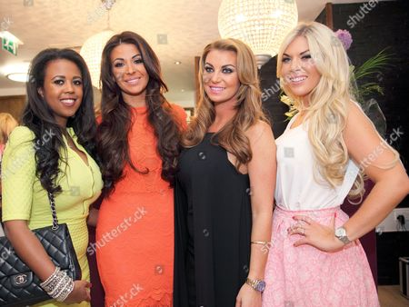 Stock Picture of Danni Park-Dempsey, Cara Kilbey, Billi Mucklow and Frankie Essex