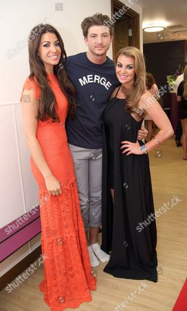Stock Photo of Cara and Tom Kilbey with Billi Mucklow