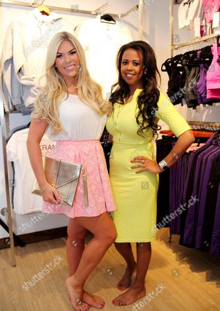 Stock Image of Frankie Essex and Danni Park-Dempsey