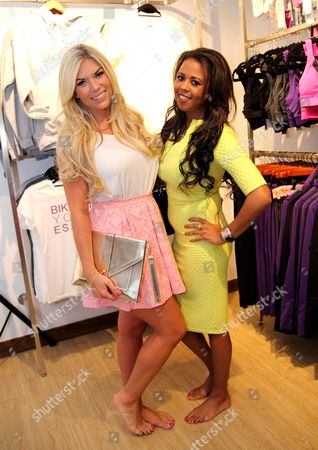 Stock Photo of Frankie Essex and Danni Park-Dempsey