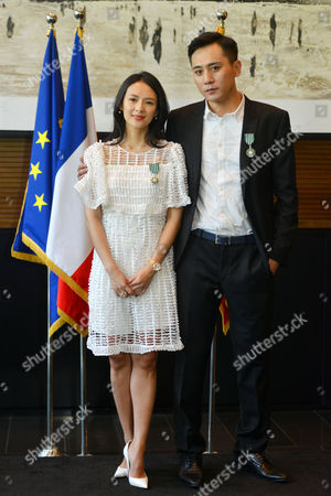 Actress Zhang Ziyi and actor Liu Ye