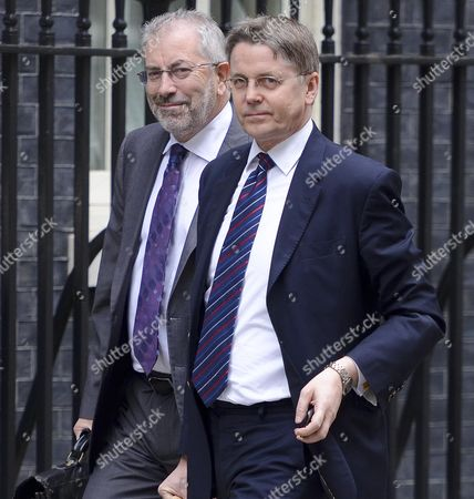 Jeremy Heywood and Sir Bob Kerslake