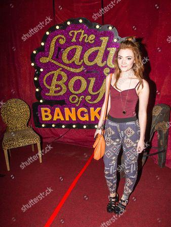 Editorial picture of Ladyboys of Bangkok 'Glamorous Amorous' Show at at the Sabai Pavilion, Manchester, Britain - 25 Jun 2013