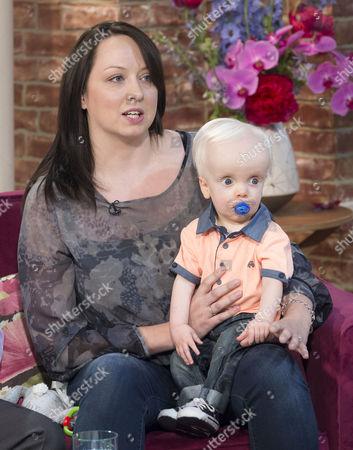 Stock Photo of Elizabeth Moore with son Samuel Linnen