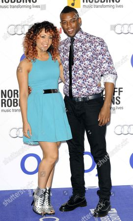 Aimee Jade and Oritse Williams