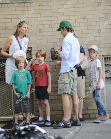 Danny Moder and his kids