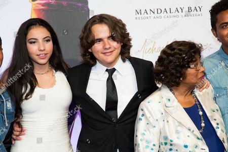 Remi Alfalah, Michael Joseph Jackson Jr and Katherine Jackson
