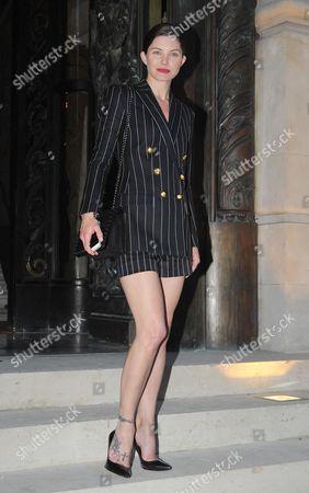 Editorial image of Versace show, Haute Couture Fall Winter 2013, Paris Fashion Week, France - 30 Jun 2013