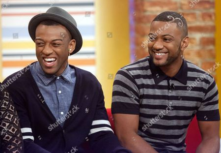 JLS - Ortise Williams and Jonathan Gill