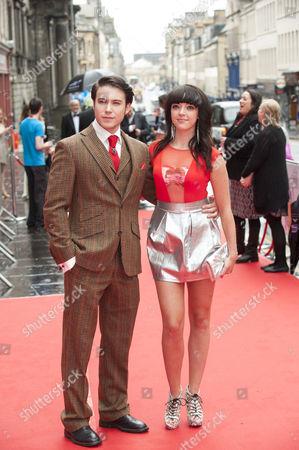Stock Photo of Carl Au and Kirstie Steele