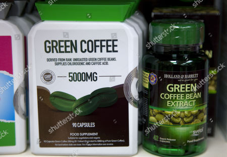 Green coffee bean extract food supplement chlorogenic