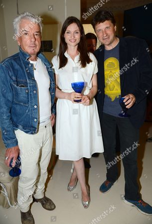 Stock Picture of Nicky Haslam and Sophie Ellis-Bextor and Lord John Somerset