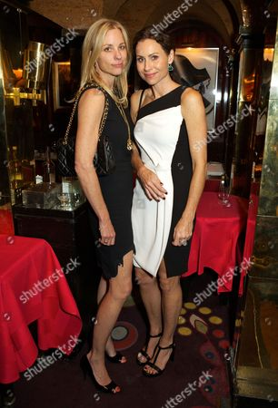 Kate Driver and Minnie Driver
