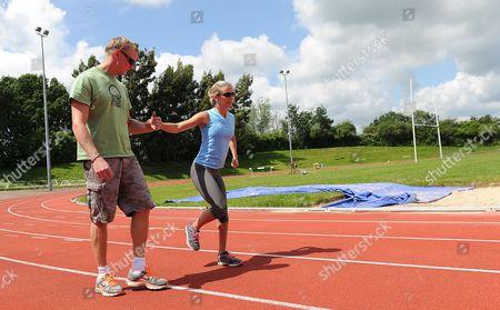 Sophia Warner Paralympic Sprinter  With Partner Haydn.