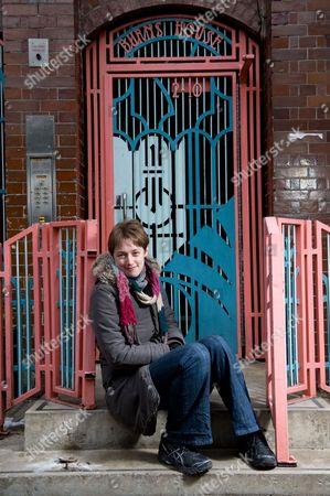London United Kingdom - February 8: Portrait Of Fantasy Author Kate Griffin