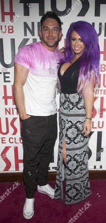 Stock Picture of Darren Chidgey and Holly Hagan
