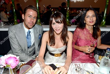 Jack French, Annabelle Neilson and Yasmin Mills