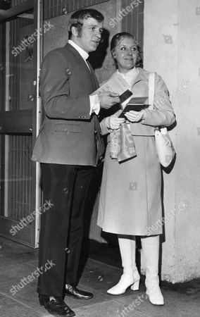 Footballer Francis Lee With Wife Jean Lee.