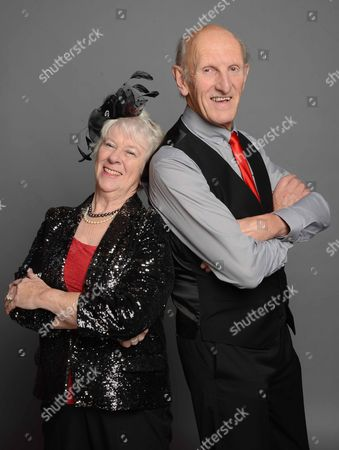 Stock Photo of Rosemary Bannister and Seb Craig
