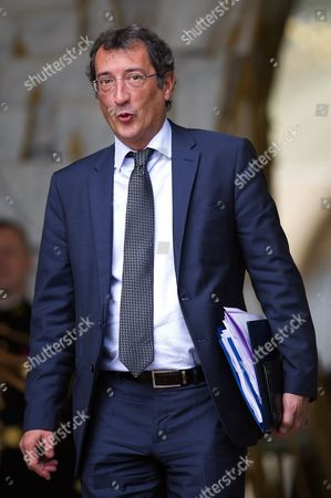 Stock Picture of Junior Minister for Cities Francois Lamy