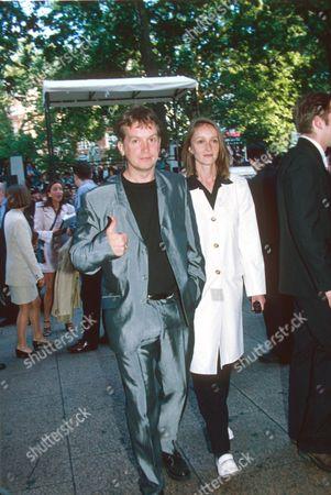 Frank Skinner and girlfriend Tracey Macleod