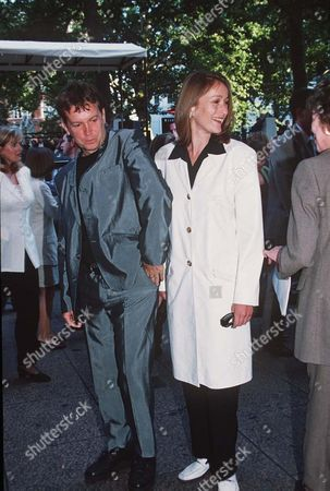 Stock Picture of Frank Skinner and girlfriend Tracey Macleod